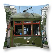 A Streetcar Named Something Else Throw Pillow