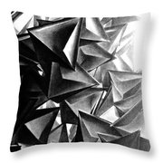 A Structure That Cannot Extinguish The Light Throw Pillow