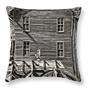A Study Of Line And Form 2 Throw Pillow
