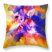 A Sunday Morning Doodle 051213 Throw Pillow