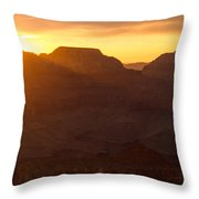 A Sunrise To Make One Silent Throw Pillow