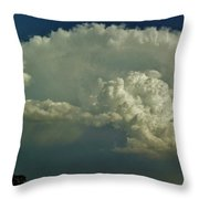 A Supercell Is Born Throw Pillow