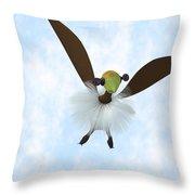 A Tackiebird Closeup Throw Pillow