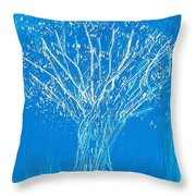 A Tangled Season Throw Pillow