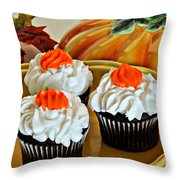 A Taste Of Fall Throw Pillow