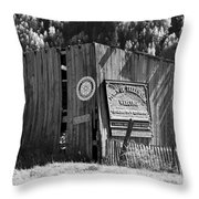 A Telluride Welcome Throw Pillow