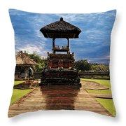 A Temple Throw Pillow