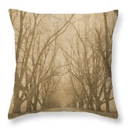 A Thousand Words Throw Pillow by Brett Pfister