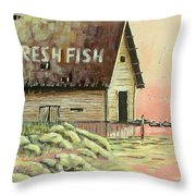 A Time Past Throw Pillow