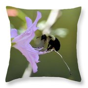 A Tiny Moment's Rest Throw Pillow
