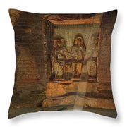 A Tomb At El-kab, One Of 24 Throw Pillow