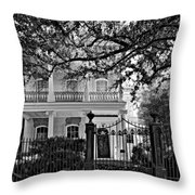 A Touch Of Class Monochrome Throw Pillow