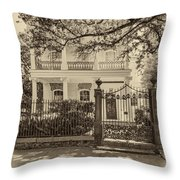 A Touch Of Class Sepia Throw Pillow