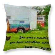 A Touch Of Country Throw Pillow