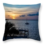 A Tranquil Conquering Of The Night Throw Pillow