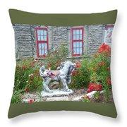 A Treasure In A Garden Throw Pillow