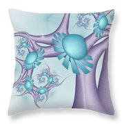 A Tree In A Wonderland 2 Throw Pillow