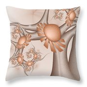 A Tree In A Wonderland Throw Pillow