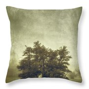 A Tree In The Fog 2 Throw Pillow