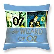A Tribut To The Oz Throw Pillow