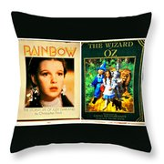 A Tribute To The Oz Throw Pillow