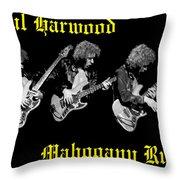 A Trinity Of Harwood Throw Pillow