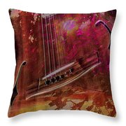 A Tune In The Woods By Steven Langston Throw Pillow