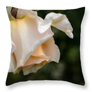 A Unique Beauty - Flower Art Throw Pillow