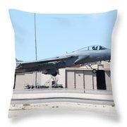 A U.s. Air Force F-15c Eagle Taking Throw Pillow