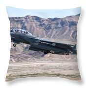 A U.s. Air Force F-15e Strike Eagle Throw Pillow