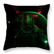 A U.s. Air Force Pilot Sits Throw Pillow
