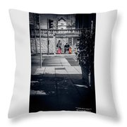 A Very Long Waiting Day Throw Pillow