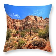 A View Along The Watchman Throw Pillow