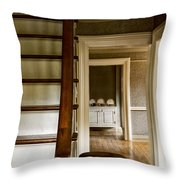 A View Down The Hall Throw Pillow