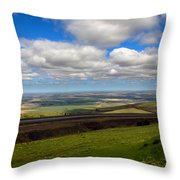 A View From Cabbage Hill Throw Pillow