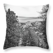 A View From Estes Park Throw Pillow