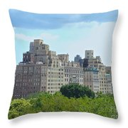 A View From The Met Throw Pillow