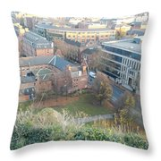 A View Of Nottingham Throw Pillow