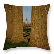 A View Of Pottes  Throw Pillow