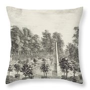 A View Of The Orangery Throw Pillow