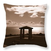 A View Of The Pacific Throw Pillow