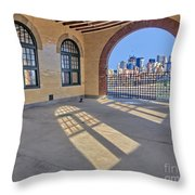 A View To Nyc Throw Pillow