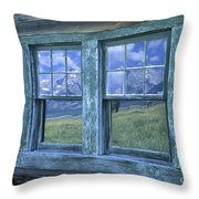 A View To The Tetons Throw Pillow