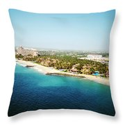 A View Upon Los Tules Throw Pillow