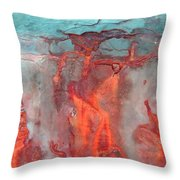 A Vision Of Hell Throw Pillow