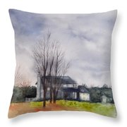 A Voice Of Winter Throw Pillow