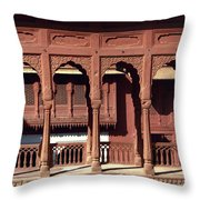 A Walk Among The Arches.. Throw Pillow