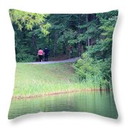 A Walk In Nature Throw Pillow