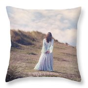 A Walk In The Dunes Throw Pillow by Joana Kruse