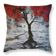 A Walk In The Twilight Throw Pillow